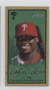 2008 Topps Heritage T205 Mini #HTCP10 - Ryan Howard