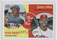 Jimmy Rollins, Ernie Banks