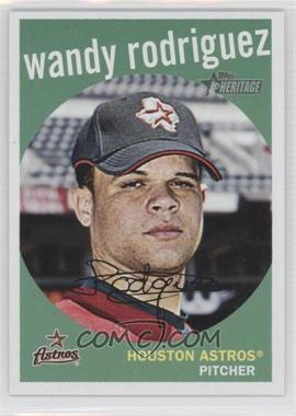 2008 Topps Heritage #234 - Wandy Rodriguez