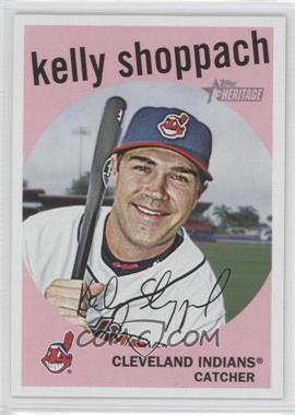 2008 Topps Heritage #539 - Kelly Shoppach
