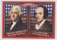 Thomas Jefferson, Aaron Burr