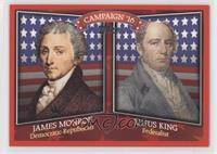 James Monroe, Rufus King