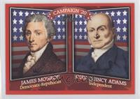 James Monroe, John Quincy Adams