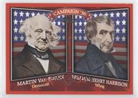 Martin Van Buren, William Henry Harrison