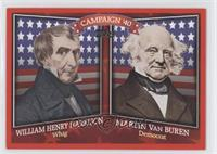 William Henry Harrison, Martin Van Buren