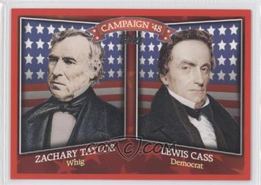 2008 Topps Historical Campaign Match-Ups #HCM-1848 - Zachary Taylor, Lewis Cass