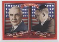 Warren G. Harding, James M. Cox