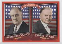 Frandlin D. Roosevelt, Herbert Hoover