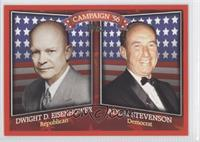 Dwight Eisenhower, Adlai Stevenson