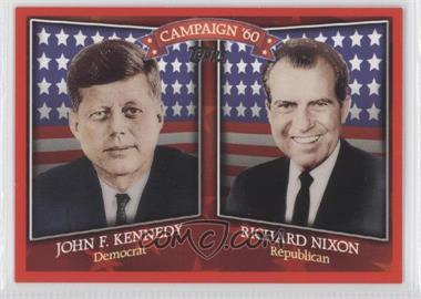2008 Topps Historical Campaign Match-Ups #HCM-1960 - John F. Kennedy, Richard Nixon