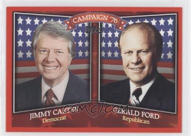 2008 Topps Historical Campaign Match-Ups #HCM-1976 - Jimmy Carter, Gerald Ford
