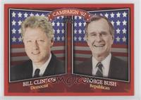 Bill Clinton, George Bush