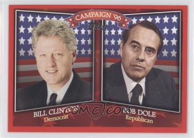 2008 Topps Historical Campaign Match-Ups #HCM-1996 - Bill Clinton, Bob Dole