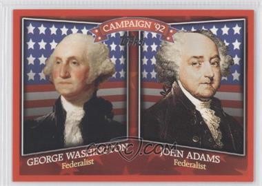 2008 Topps Historical Capaign Match-Ups #HCM-1792 - Jon Adkins, George Walberg
