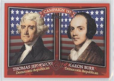 2008 Topps Historical Capaign Match-Ups #HCM-1800 - [Missing]