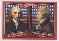 James Madison, Charles Pinckney
