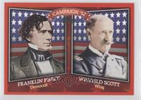 Franklin Pierce, Winfield Scott