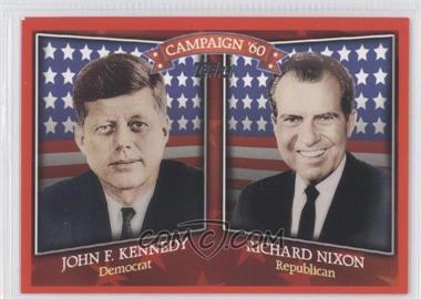 2008 Topps Historical Capaign Match-Ups #HCM-1960 - John F. Kennedy, Richard Nixon