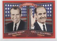 Richard Nixon, George McGovern