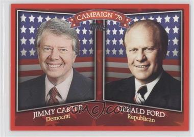 2008 Topps Historical Capaign Match-Ups #HCM-1976 - Jimmy Carter, Gerald Ford