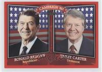 Ronald Reagan, Jimmy Carter