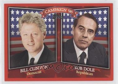 2008 Topps Historical Capaign Match-Ups #HCM-1996 - Bill Clinton, Bob Dole