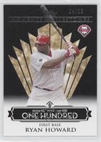 Ryan Howard (2006 NL MVP - 149 RBIs) /25