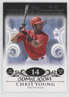 Chris Young (2007 Rookie - 32 Home Runs) /25