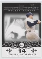 Mickey Mantle (20 Career All-Star Game Selections) /25