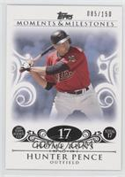 Hunter Pence (2007 Topps Rookie Cup - 17 HRs) /150