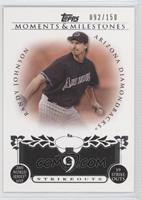 Randy Johnson (2001 World Series MVP - 19 Strikeouts) /150