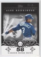 Alex Rodriguez /25