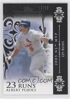 Albert Pujols (2005 NL MVP - 129 Runs) /25