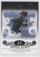 Carlos Pena (2007 MLB Superstar - 46 HRs) /25