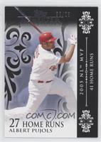 Albert Pujols (2005 NL MVP - 41 Home Runs) /25