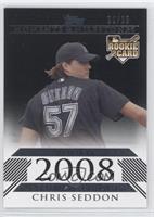 Chris Seddon (2008 Rookie) /25