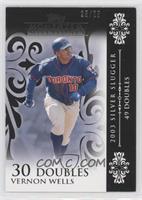 Vernon Wells (2003 Silver Slugger - 49 Doubles) /25