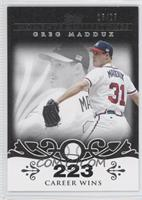 Greg Maddux Career Milestone - 300 Wins (347 Total) /25