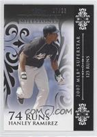 Hanley Ramirez 2007 MLB Superstar - 125 Runs /25