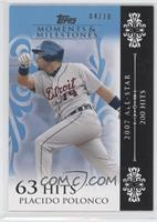 Placido Polanco 2007 All-Star - 200 Hits /10