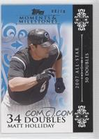 Matt Holliday (2007 All-Star - 50 Doubles) /10