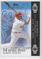 Albert Pujols 2005 NL MVP - 41 Home Runs /10
