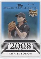 Chris Seddon (National League Rookie) /10