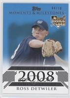 Ross Detwiler (Rookie Pitcher) /10