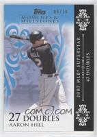 Aaron Hill (2007 MBL Superstar - 47 Doubles) /10