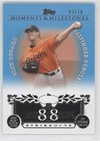 Erik Bedard 2007 MLB Superstar 221 Ks /10
