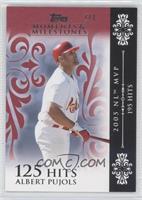 Albert Pujols 2005 NL MVP - 195 Hits /1