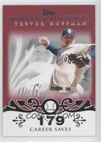 Trevor Hoffman (2007 - 500 Career Saves (524 Total)) /1