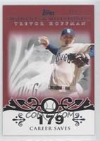 Trevor Hoffman (2007 - 500 Career Saves (524 Total)) /1