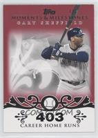 Gary Sheffield (2007 - 450 Career Home Runs (480 Total)) /1